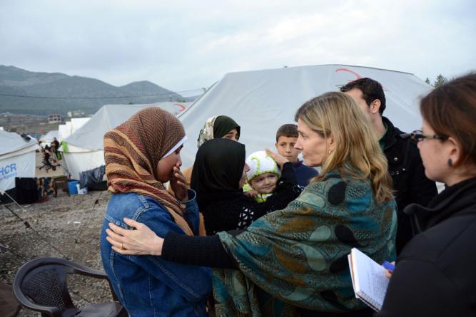 難民受け入れにも政治分裂の影 ―― 米国から
