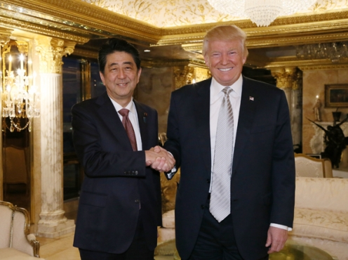 トランプ次期大統領との会談
