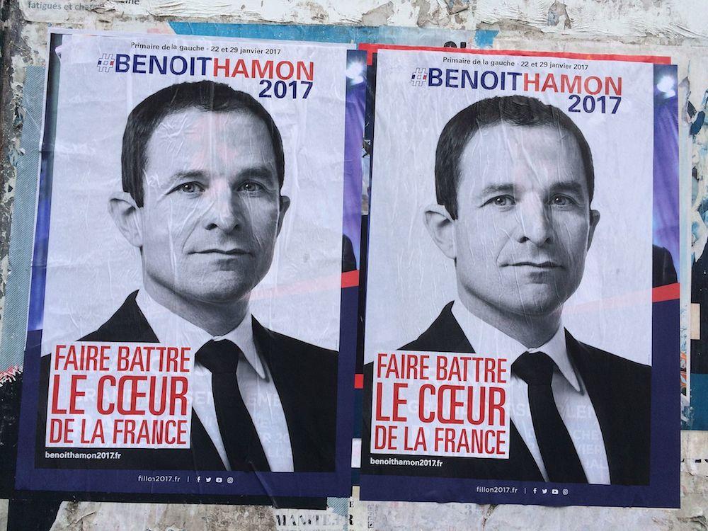 社会党統一候補となったブノワ・アモン候補 © Chris93