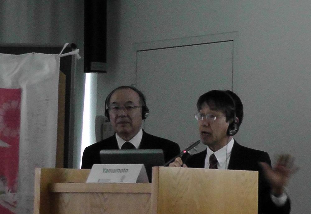 山本英彦医師(左)と高松勇医師
