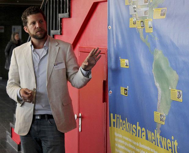 IPPNWドイツ支部副議長で小児科医のアレックス・ローゼン氏 ©IPPNW (2016年2月27日「IPPNWの国際会議 チェルノブイリから30年フクシマから5年」ベルリン)
