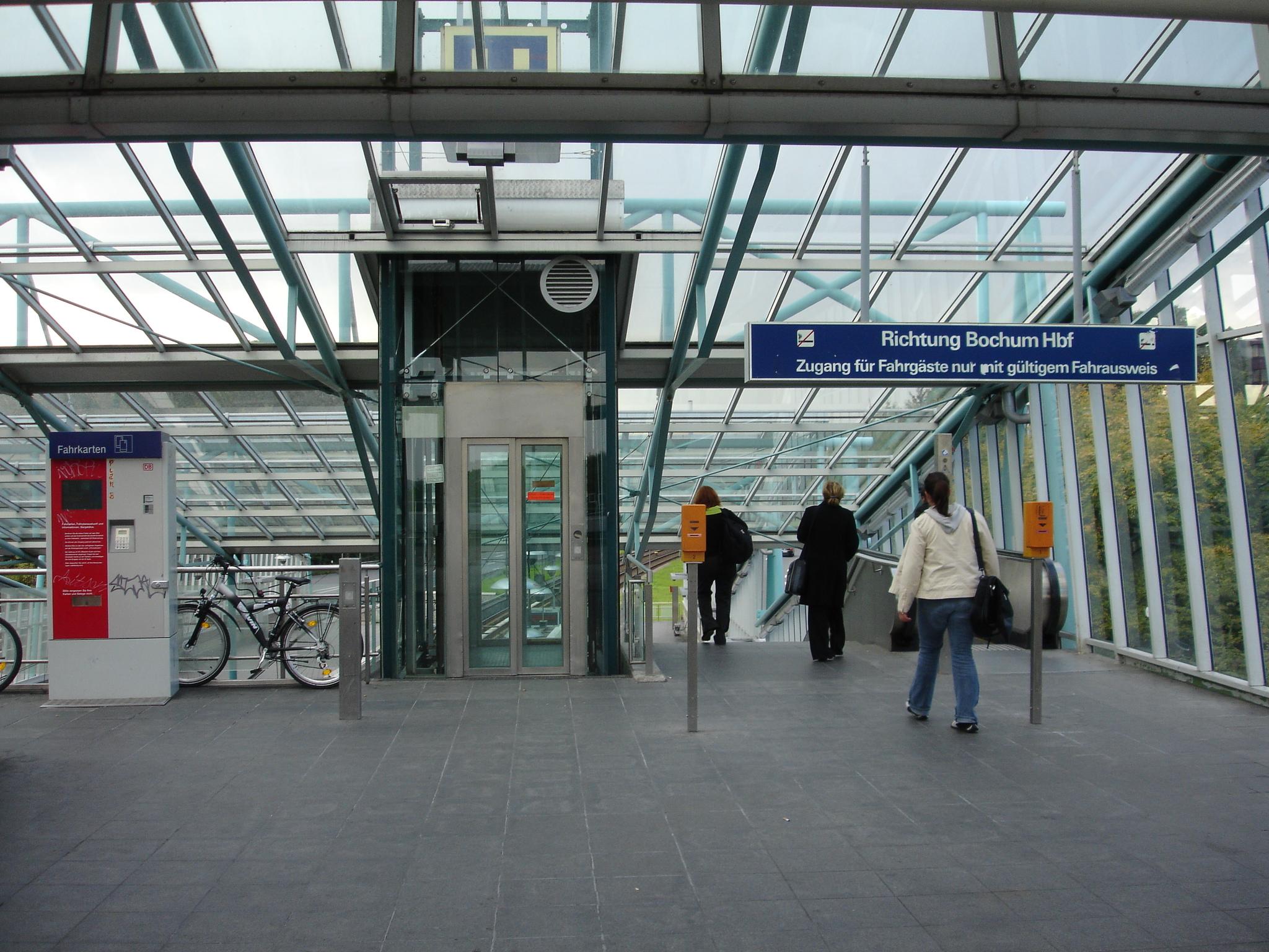 改札のない駅